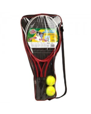 giochi preziosi rdf50024 sport&fun set 2 racchette tennis con palla