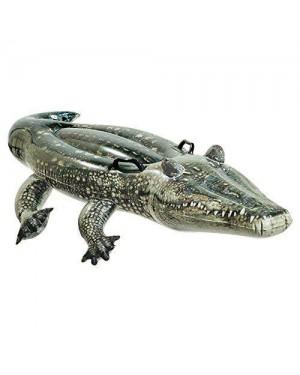 INTEX 57551 gonfiabile cavalcabile coccodrillo vero cm170