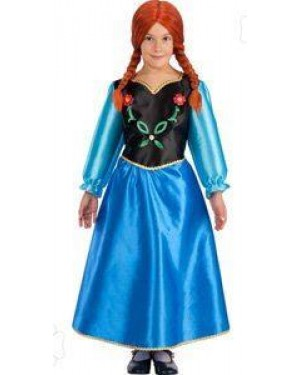 Costume Anna 4/5 T.4 114 Made In Italy Frozen