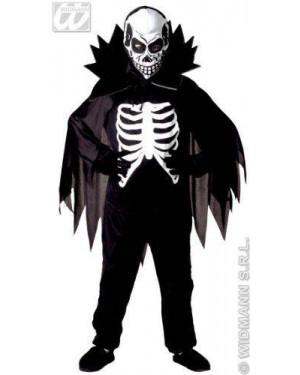 WIDMANN 38447 costume scheletro 8/10 cm 140