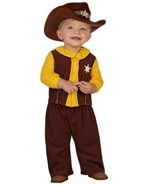 Costume Da Cowboy, Baby T. 12-24