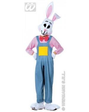 Costume Bunny Coniglio 128Cm Costume,Mani,Piedi,M