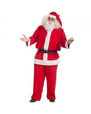 Costume Babbo Natale Xxl In Tela 110Cm Vita