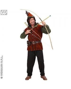 Costume Robin Of Sherwood M Casacca, Pantaloni,