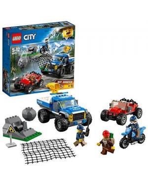 LEGO 60172 lego city police duello fuori strada