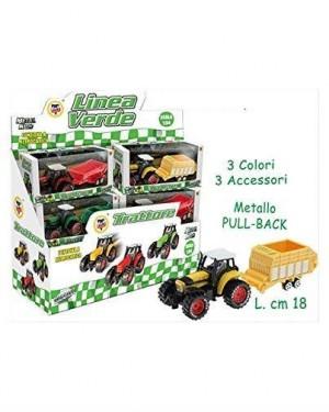 TEOREMA 64828 trattore a frizione con pala 3 colori