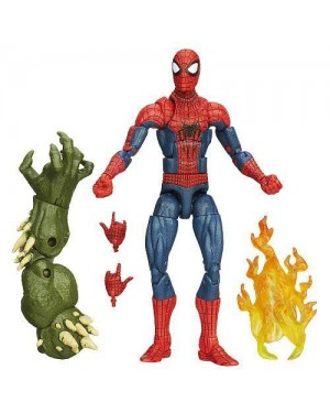 MATTEL A6655 spiderman legend con accessori