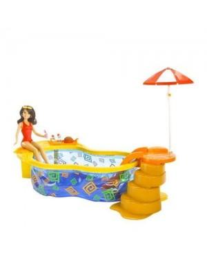 MATTEL M5135 barbie hi school musical gabriella con piscina