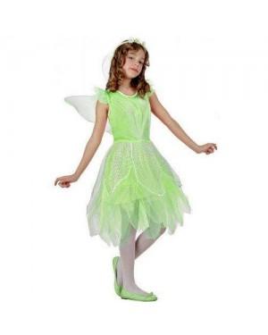 Costume Fata Verde Tg 2 5/6 Anni