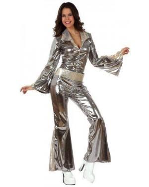 Costume Disco Sexy Argento T2 M\L