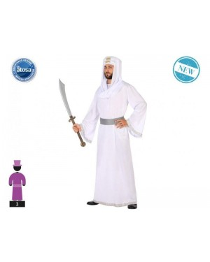 ATOSA 53861 costume arabo t-2 sceicco bianco