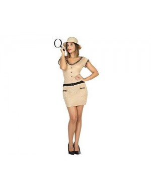 ATOSA 17703.0 costume esploratrice m-l