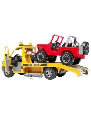 bruder gt02535 bruder mb sprinter trasporto jeep con l/s
