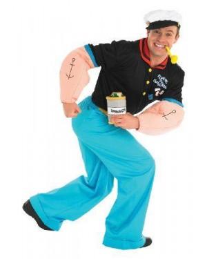 RUBIES 889039 costume braccio di ferro popeye m