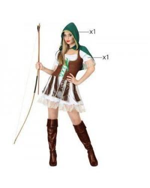 ATOSA 26836.0 costume arciera adulto t 2