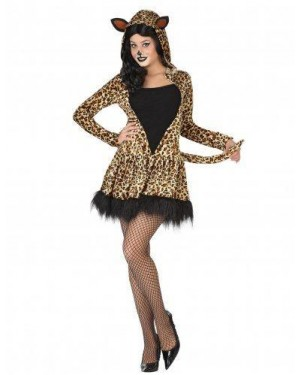 Costume Leopardo Adulto T1 Xs\S