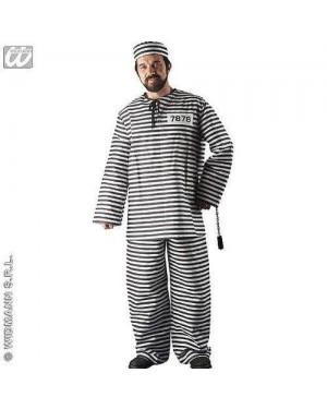 Costume Carcerato M Uomo