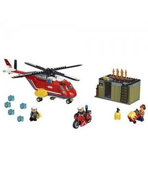 LEGO 60108 lego city unita di risposta antincendio