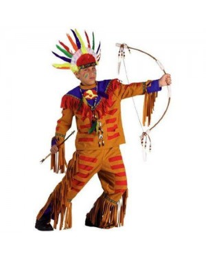 CLOWN 92108 costume indiano apache 8 anni