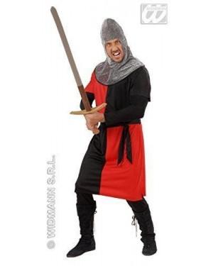 Costume Guerriero Medievale S In 4 Colori Con Capp