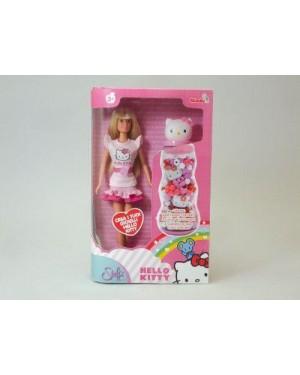 SIMBA 5737234 bambola steffi love hello kitty crea gioielli