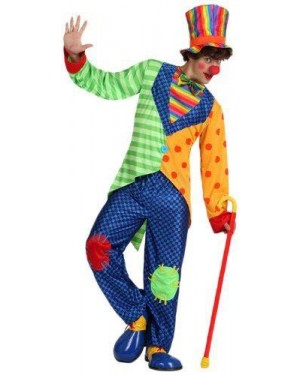 ATOSA 15669 costume clown, adulto t. 3