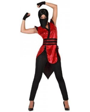 Costume Ninja Sexy Donna T1 Xs\S