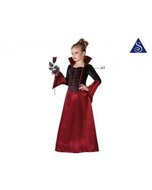 ATOSA 22748 costume vampiressa, bambina t4 10-12 anni
