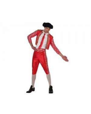 Costume Da Torero, Rosso. Xxl T4