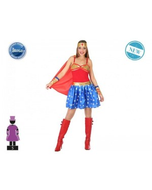 ATOSA 54610 costume dc wonder woman t-1 classic