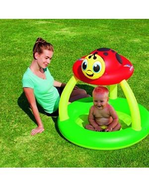bestway 52181 gonfiabile piscina coccinella c/copertura 91x84