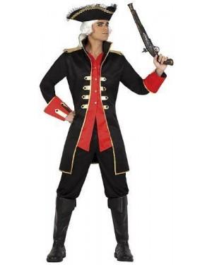 Costume Capitan Pirata, Adulto T2 M\L
