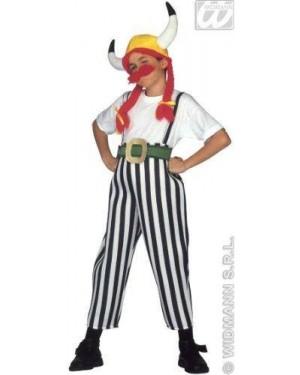 Costume Gaulois 5/7 Cm128 Obelix