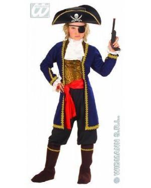 Costume Pirata Dei 7 Mari 8/10 Cm140