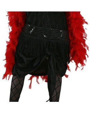 Costume Da Charleston Nero T3 7-9 Anni