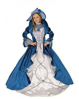 Costume Dama Velluto Blu 9/11