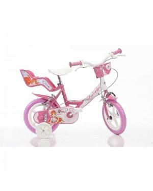 dinobikes 144rwx bicicletta 14 winx 4-7 anni