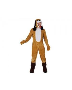 Costume Da Cane Orecchie Lunghe Adulto M/L
