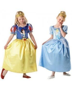 Costume Cenerentola 7/8 2 In Uno Disney