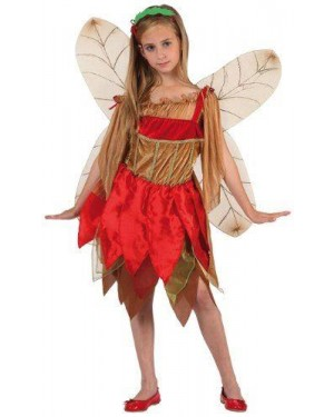 Costume Fata Dell'Autunno C/Ali Doppie T-3