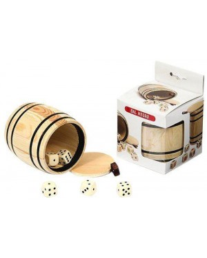 DAL NEGRO 054321 bicchiere legno dadi comuni yahtzee