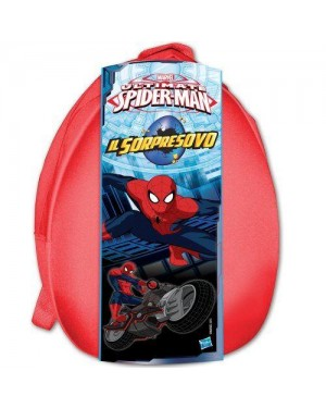 HASBRO 950300210 zaino pasqua spiderman boy