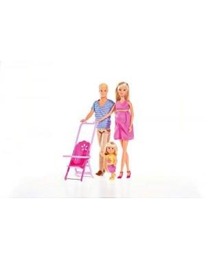 SIMBA 105733200 simba steffi love set famiglia (3 personaggi)