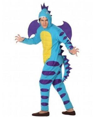 Costume Dragone Adulto T3 Xl