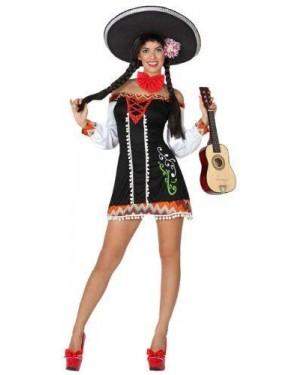 Costume Mariachi Sexy, Adulto T. 2