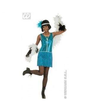 Costume Charleston M Vestito In Paillettes,Fasc