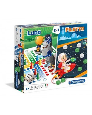 CLEMENTONI 16066 ludo + filetto
