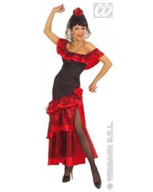 Costume Senorita Spagnola In Velluto M