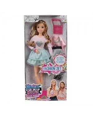 SIMBA 109273155 maggie e bianca bambola bianca +abiti