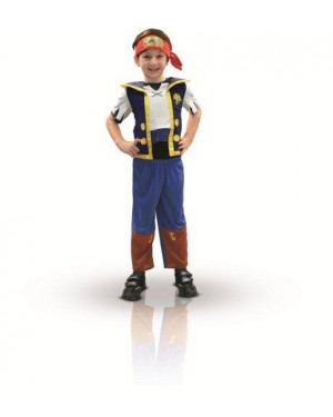 RUBIES 881214S costume jake il pirata 2/3 disney